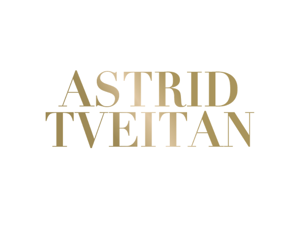 Astrid Tveitan logo with signature